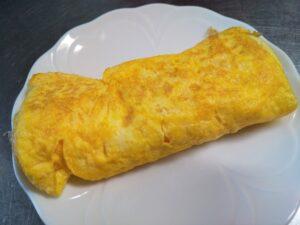 子どもたちの作った卵焼き