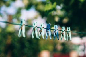 洗濯物と空